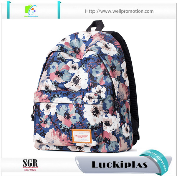 Funky Printed oem backpack child ,student computer backpacks for teenagers