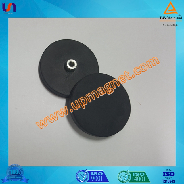 Rubber coated NdFeB Mounting Magnets for holders