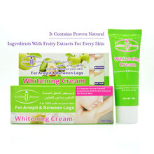 Whitening selling new products 50g armpit & between legs whitening cream for safe