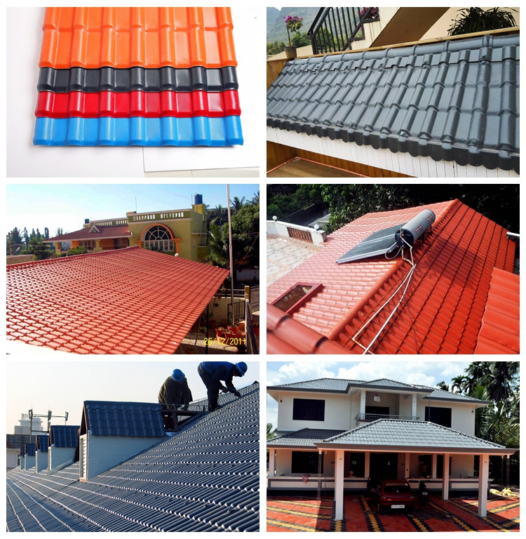 Highly fire resistant construction material double color for Fire resistant roofing