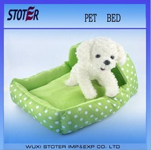 colorful round dots pet beds,pet bedding