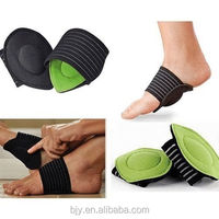 1 Pair Foot Cushioned Arch Support Helps Decrease Fasciitis Aid Plantar Fasciitis Pain