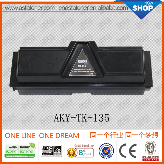 From ASTA top quality and best price TK-135 used copier for kyocera toner