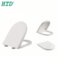 Ideal Standard D Shape Self-Closing Toilet Seat With Cover Hinges