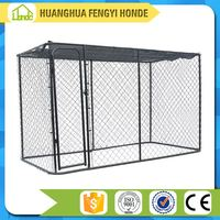 Popular Fast Sell Dog Run Fence Panels Dog Kennels /Dog House