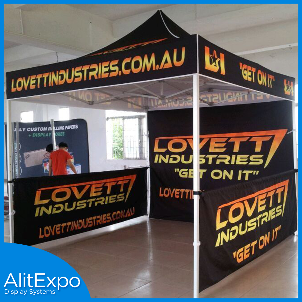 Popular Customized Exhibition Heavy Duty 10 x 10ft Pop Up Tent