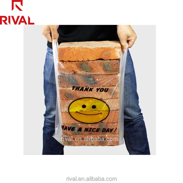 Wholesale China Supplier Biodegradable Plastic T-Shirt Bag For Shopping
