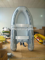 2015 CE Certificate 3 Persons Mini Motor Boat Aluminum Hull Boat for Sale
