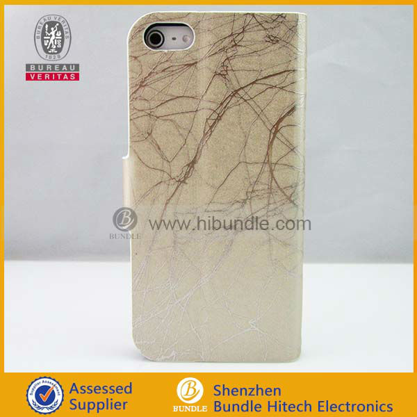 alibaba valued supplier for iphone case, for iphone5 slim pu leather case
