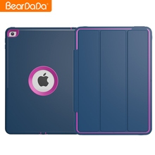 Auto Wake Up hybrid armor case for ipad air,for ipad air case shock proof