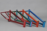 Chromoly4130 Butted oil slick BMX frame 250cc dirt bike