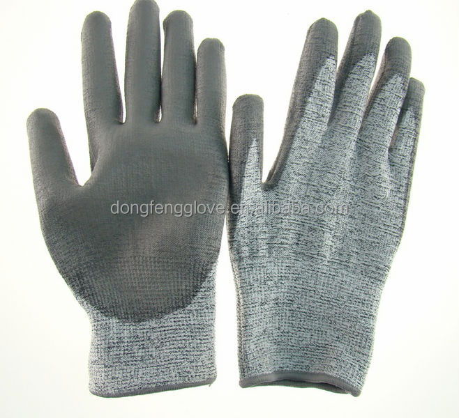 2014 hot selling products cut resistance gloves / 4543 safety gloves