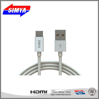 Trade Assurance Metal Braided Usb Jack Cable