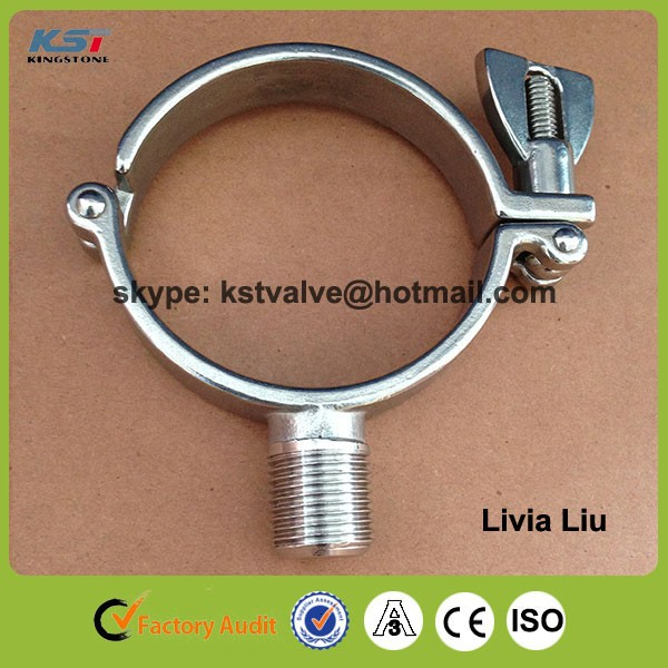 "Promotion China factory 2"" 304 stainless steel sanitary pipe hanger"