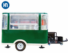 2018 China hot sales best quality kebab ice cream hot dog burger mobile food truck