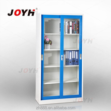 Sliding glass door metal godrej cupboard steel file cabinet