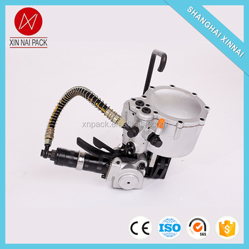 Good quality pneumatic steel strapping machine 32mm