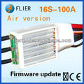 Flier 16S and 100A brushless ESC for RC airplane