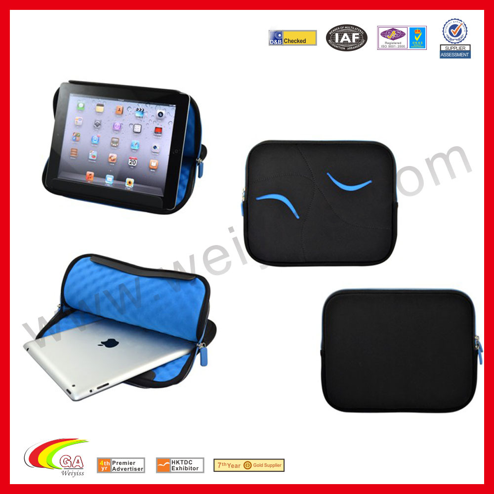 Waterresistant zipper bag for ipad air2 new product
