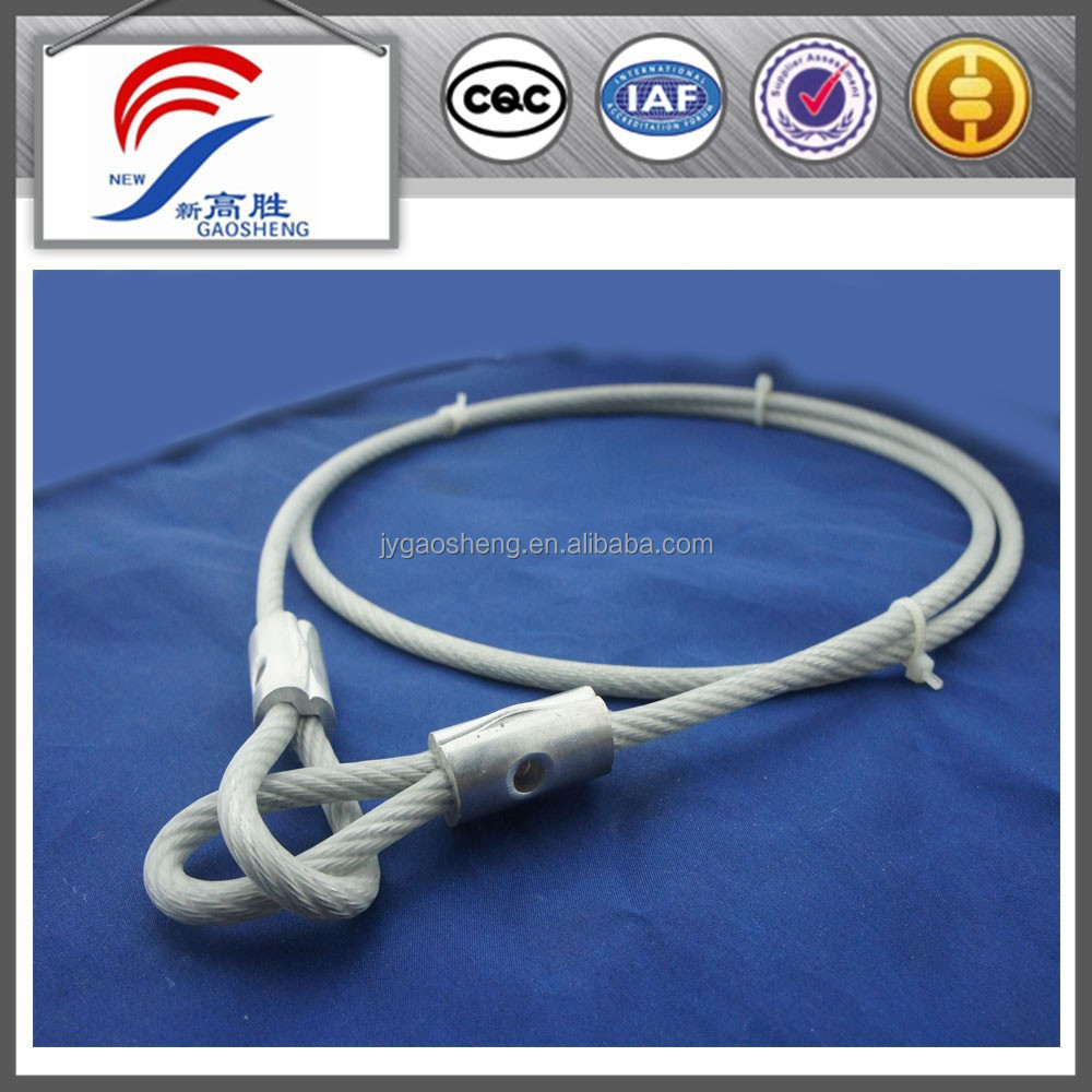 High Stength Galvanized Cable Sling For Crane