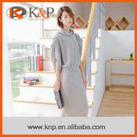Top selling latest fashion casual sweater dress design