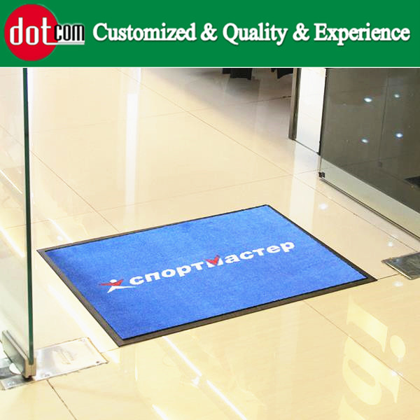 Washable Absorbing Modern Home Welcome Rubber Door Mat Indoor