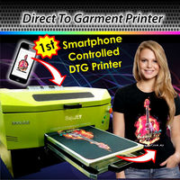 Smart-Phone Controlled DTG Printer, Direct to garment printer