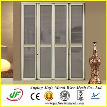 New Design Folding Anti-theft Aluminum Screen Doors (from real factory)