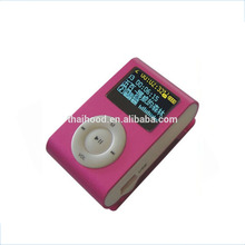2018 New Product Mini Clip Mp3 Music Multimedia Player Manual