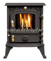 popular decorative cast iron stove/wood burning stove(JA013S)
