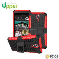 2016 China supplier 2 in 1 Rugged Hybrid Protective Kickstand Phone Case Cover for HTC Desire 620