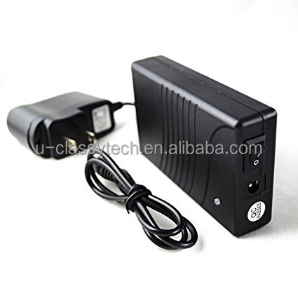 12V DC Rechageable Lithium-Ion Battery Pack, 3500 mAh - Includes Charger and USB output for LED Light Strips