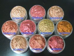 Crystal series Metal color mica pigment powder for eyeshadow,face highlighter,cosmetic