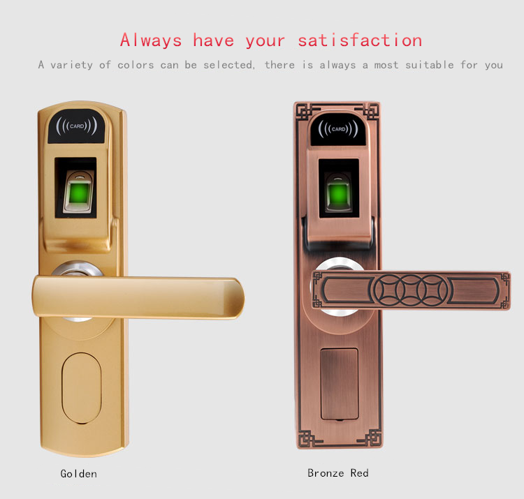 Fingerprint Key Manual Door Lock