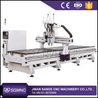 Multi spindle router cnc woodworking machine ,wood frame cutting machine