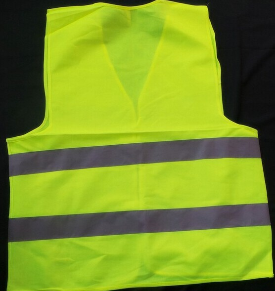 Good quality 55*67cm warning clothing vest reflective <strong>safety</strong> vest coat Sanitation vest Traffic <strong>safety</strong> 100pcs