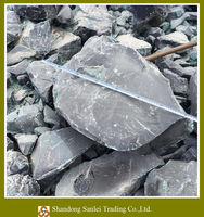 decorative large slag glass rock, rock glass, glass rock for gabion