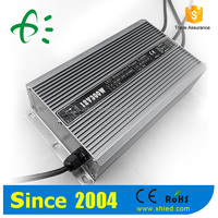 50-60HZ high power uninterruptible DC12v 300w led driver for led light CCTV
