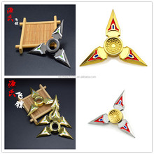Naruto Spinner Toys Fidget Spinner Autism ADHD Hand Spinner Anti Stress Funny Gifts Educational Toys Long Rotation
