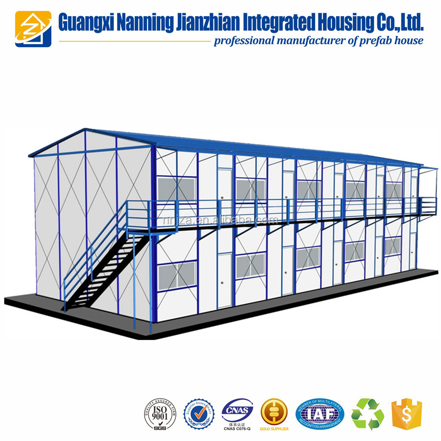 Prefabricated Green building for workers modular prefab house