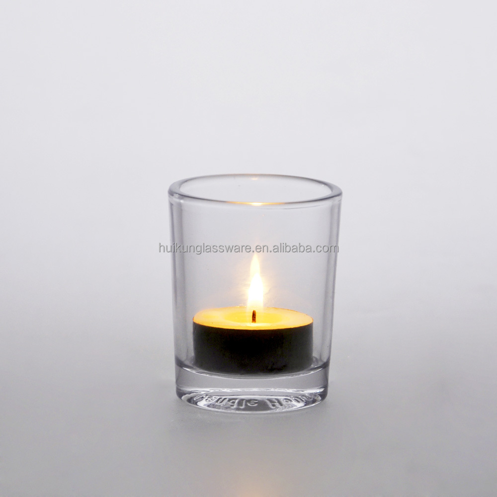 Wholesale High Quality Machine made Clear Votive Candle or Tea Light Holder