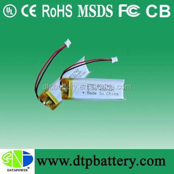 Lithium polymer battery pack 3000mah 7.4v