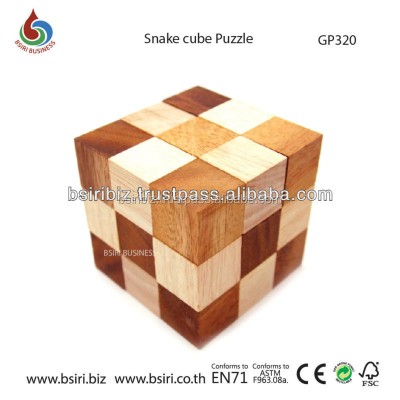 puzzle snake cube