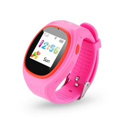 2016 Children Smart watch Wristwatch GPS LBS Double Location Safe Kids Tracking GPS Watch For Smart Phones