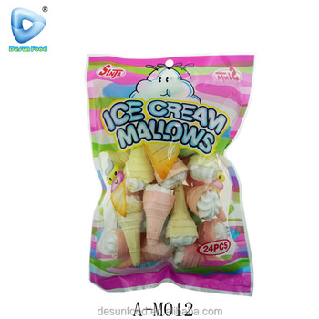 Mini Ice cream shape mallow candy