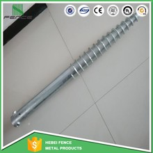 factory hot dipped galvanized Earth Anchor Ground Screw