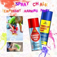 free sample harmless washable spray chalk temporary marking paint chalk spray