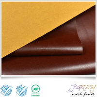 Easy to clean fake leather PU leather for shoes