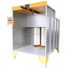 Electric Manual Powder Coating Spray Paint Booth With Filters