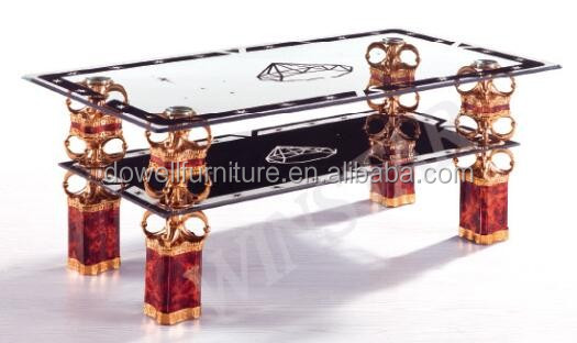 modern living room glass coffee/center table designs pinging table for sale